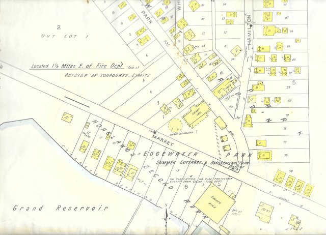 Grand Lake Fire Map.Glsm History Edgewater Park In The Roaring 20s Lake Improvement