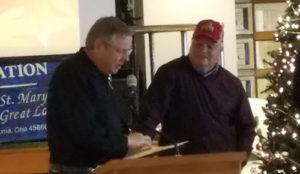 Lovett, Piening Honored by State of Ohio