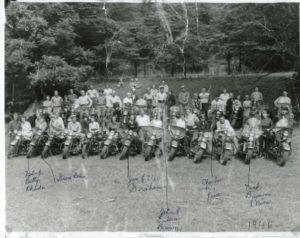 PHOTO: Grand Lake Motorcycle Club, 1946 (Mercer County Historical Society)