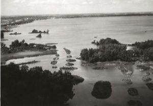Waterfowl Management area near Montezuma